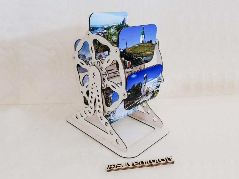 Фотохолдер из фанеры 3 мм с фотопечатью, 25*35*43 см