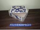 Цветочная коробка из фанеры с гибкими стенками 17*21*7 см