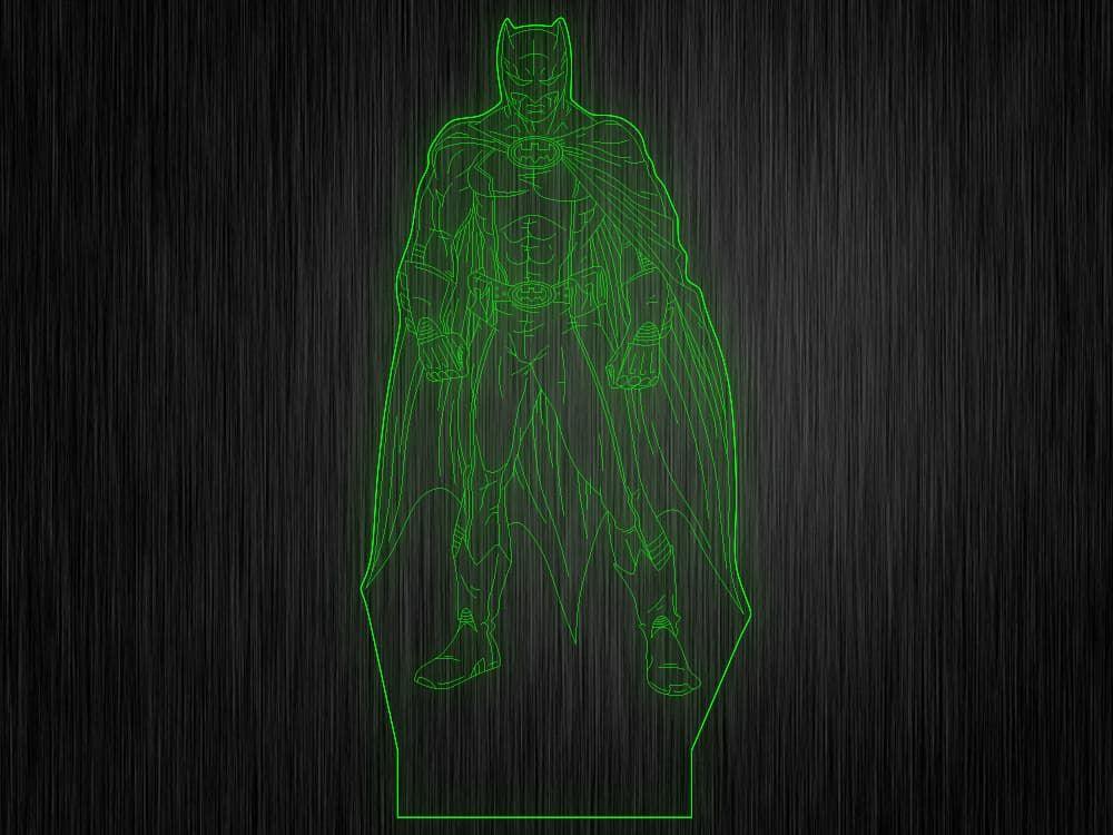 """Макет""""Бетмен №334"""" для светильника"""