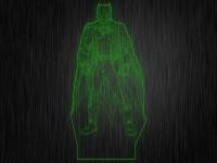 """Ночник""""Бетмен №334"""" из акрила на светодиодной подставке"""