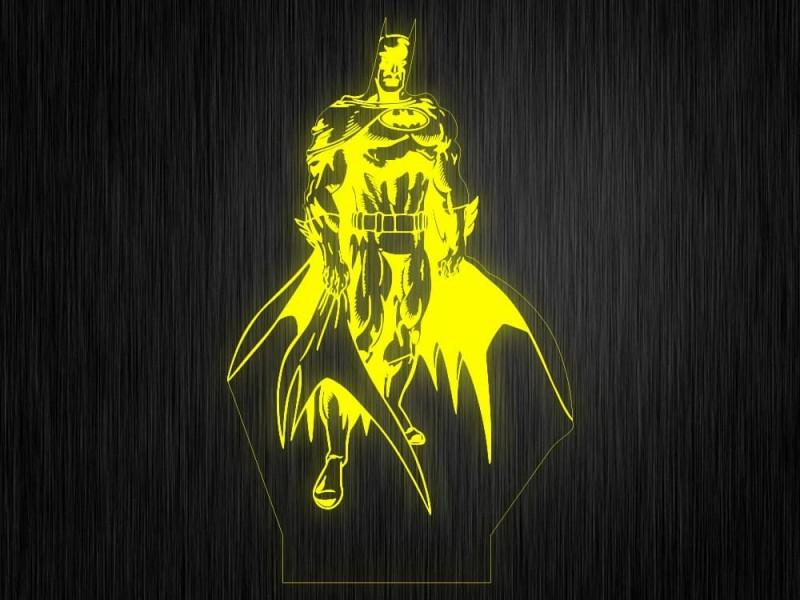 """Ночник """"Бетмен №814"""" на светодиодной подставке"""
