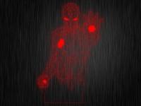 """Ночник """"Железный человек №479"""" на светодиодной подставке"""