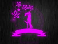"""Ночник """"Любовь. Пара. ДСВ №27"""" на светодиодной подставке"""