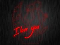 """Ночник """"Любовь. Сердце. ДСВ №597"""" на светодиодной подставке"""