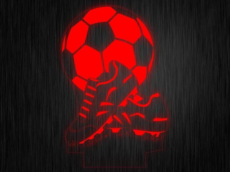 """Ночник """"Спорт. Мяч. Футбол №620"""" на светодиодной подставке"""