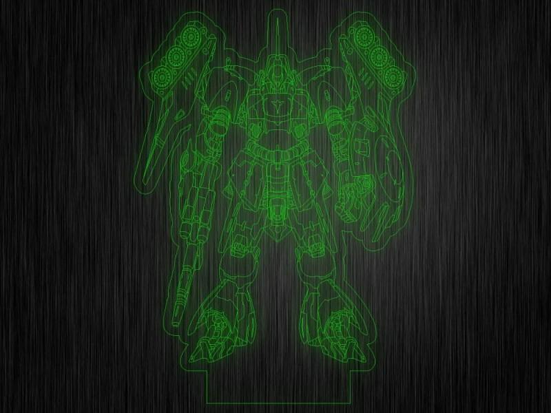 """Ночник """"Трансформеры №471"""" из акрила на светодиодной подставке"""
