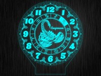 """Макет часы """"Знаки зодиак скорпион"""" для светильника"""