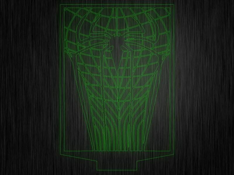 """Ночник """"Человек паук5"""" на светодиодной подставке"""