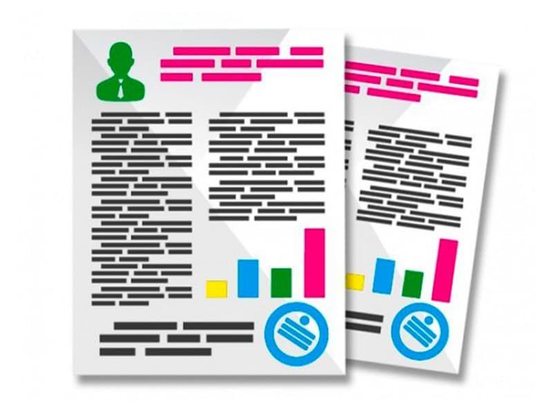 Цветная печать на офисной бумаге формат А3 (42*29,7 см), плотностью 80 гр.