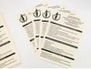 Черно белая печать на офисной бумаге формат А4 (21*29,7 см), плотностью 80 гр.