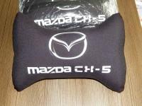 """Подушка с фотопечатью на подголовник """"Mazda"""" 22*32 см"""