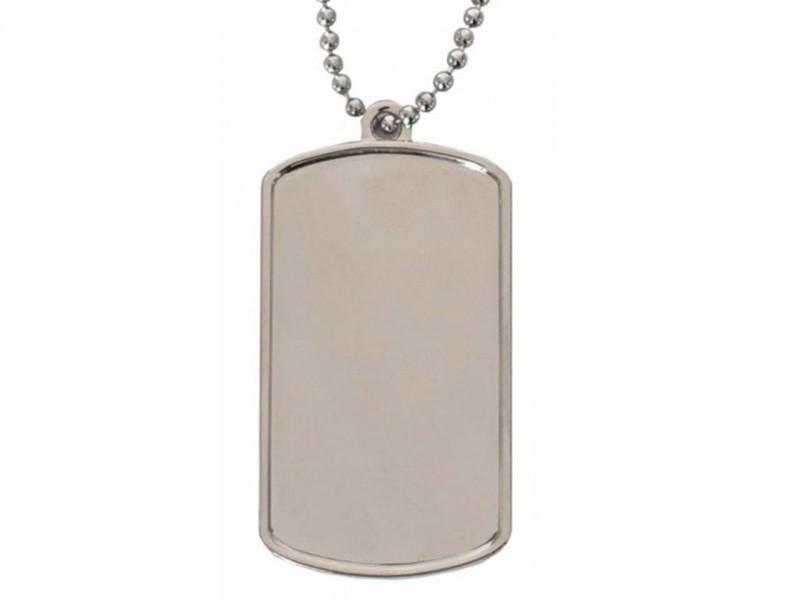 Брелок жетон С БОРТИКАМИ и линзами серебро