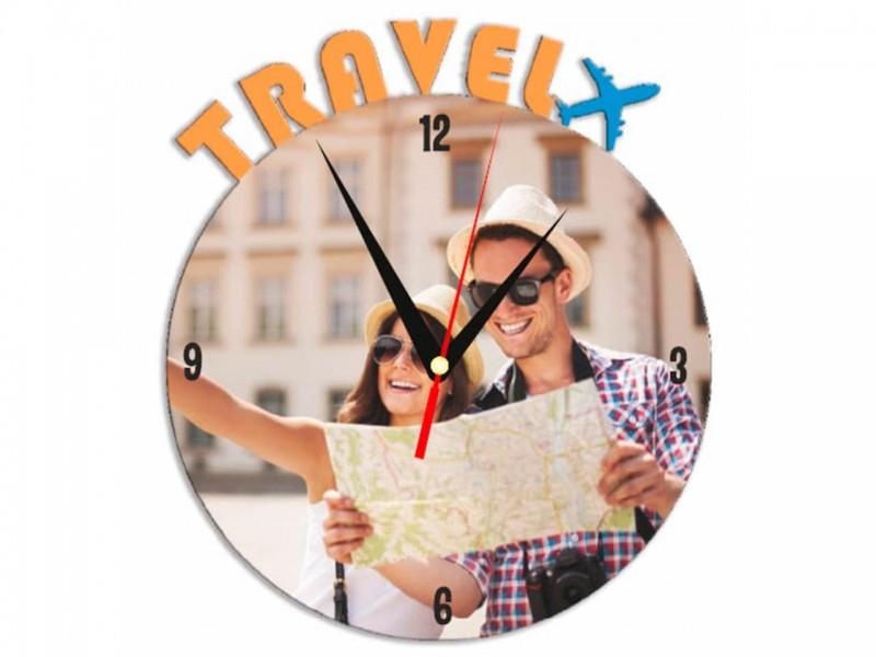 Часы металлические Travel