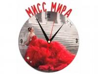 Часы металлические Мисс мира