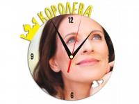 Часы металлические Королева