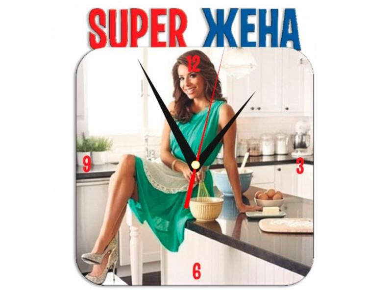 Часы металлические Super жена
