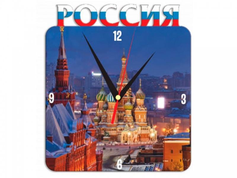 Часы металлические Россия