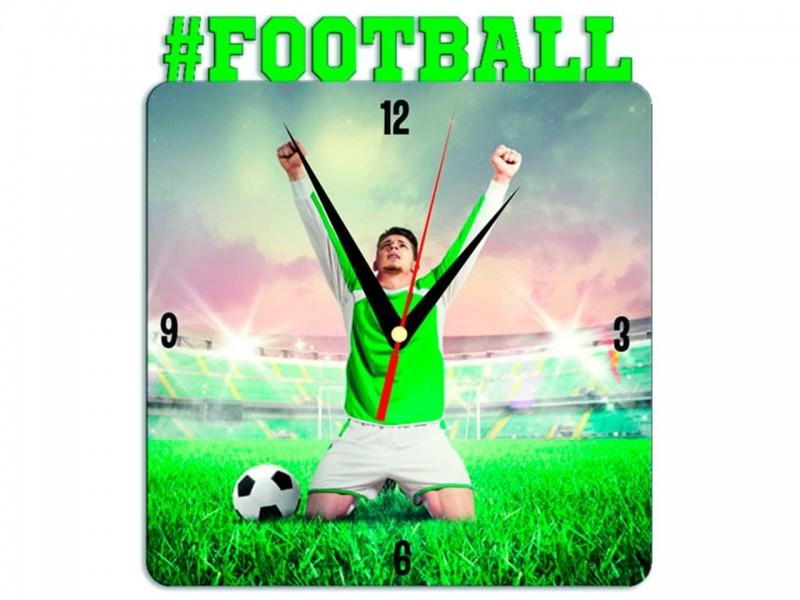 Часы металлические Football