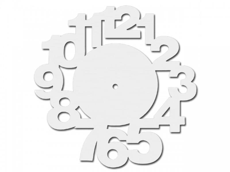 Часы деревянные ЦИФРЫ-1 27 см