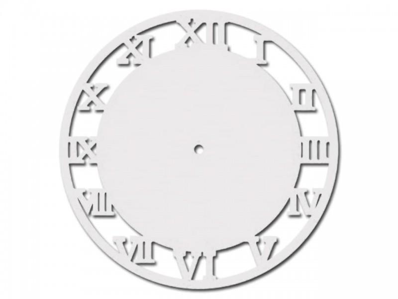 Часы деревянные РИМСКИЕ ЦИФРЫ 27 см