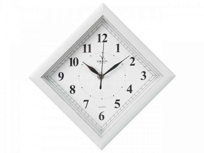 Часы Ч3 (П3) 20,5*20,5 см квадратные цветной ободок
