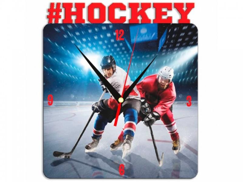 Часы металлические Hockey