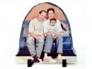 Фотокамень полукруг SH01 150*150 мм