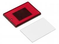 Акриловый магнит 52x77 красный