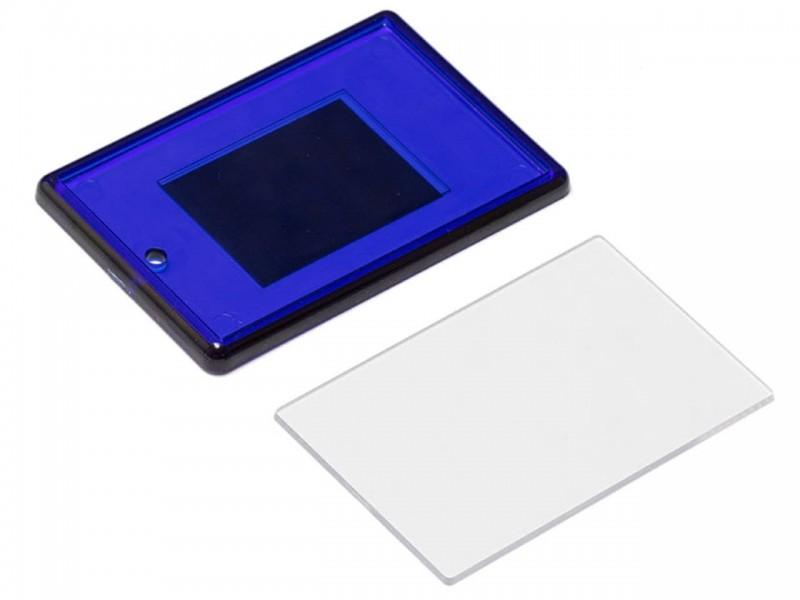 Акриловый магнит 52x77 синий