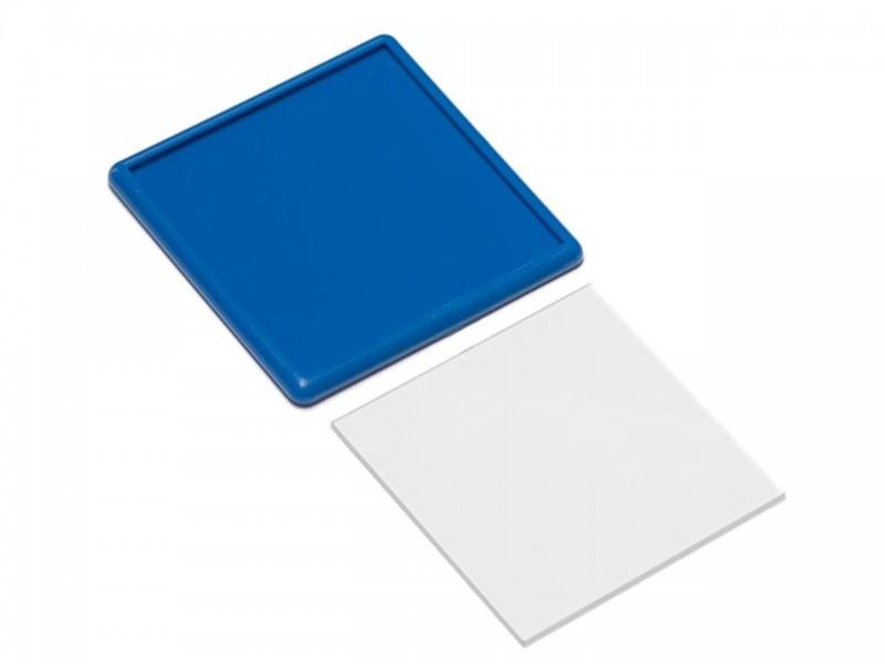 Акриловый магнит 65x65 синий
