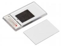 Акриловый магнит 52x96 прозрачный с термометром