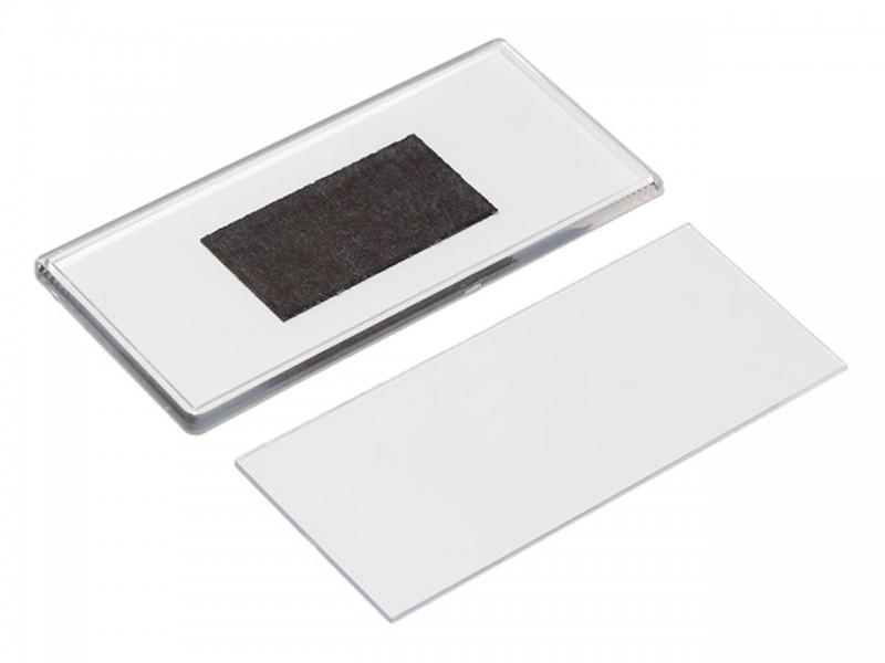 Акриловый магнит 60x133 прозрачный