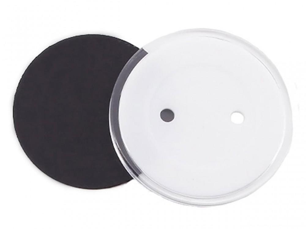 Акриловый магнит круглый 56 мм