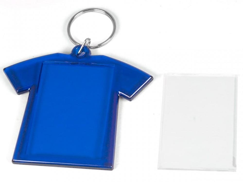 Акриловый магнит 70x75 ФУТБОЛКА синяя