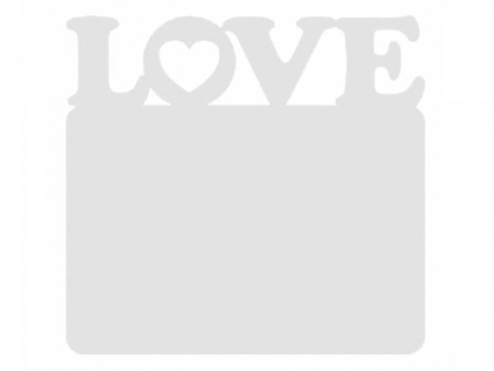Магнит деревянный LOVE