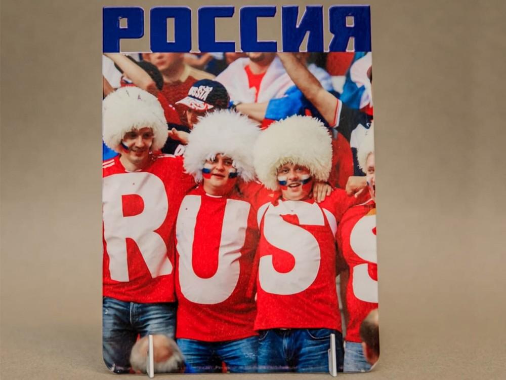 Фоторамка металлическая Россия