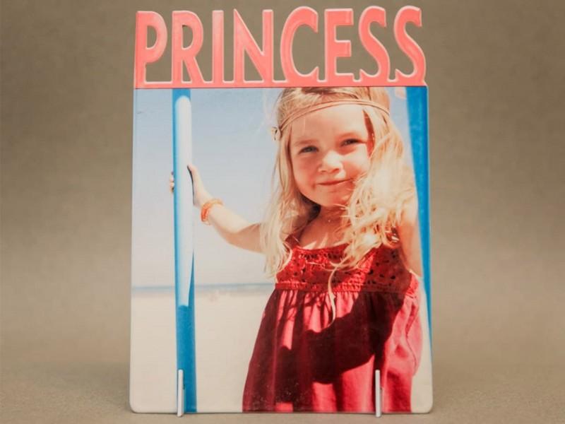Фоторамка металлическая Princess