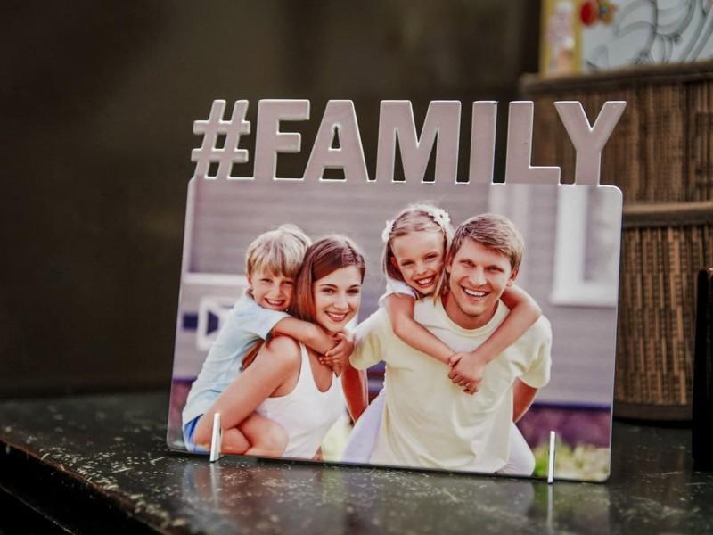 Фоторамка металлическая Family