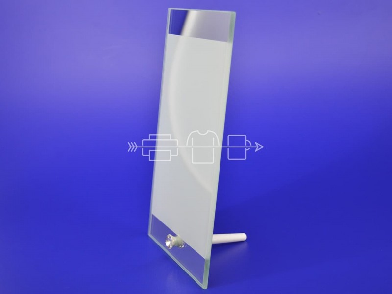 Фоторамка стеклянная BL-03 140х230х5мм
