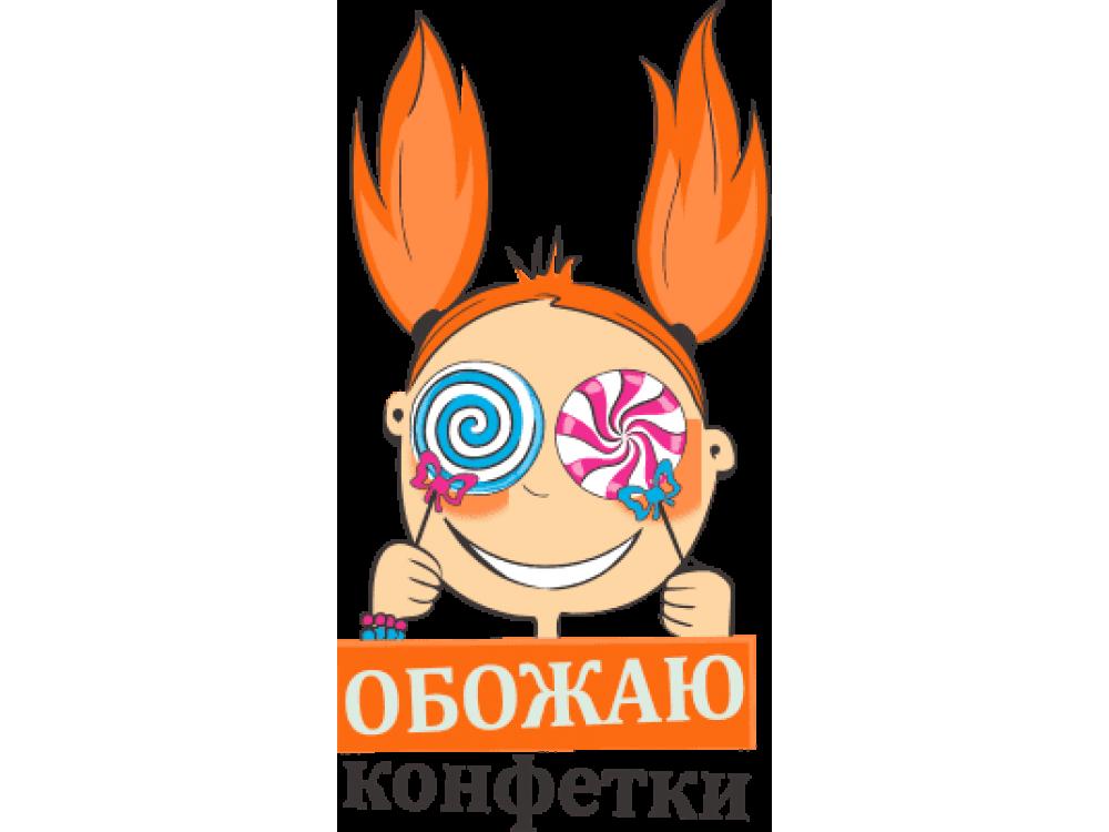 """""""Обожаю"""" Изображение для нанесения № 1412"""