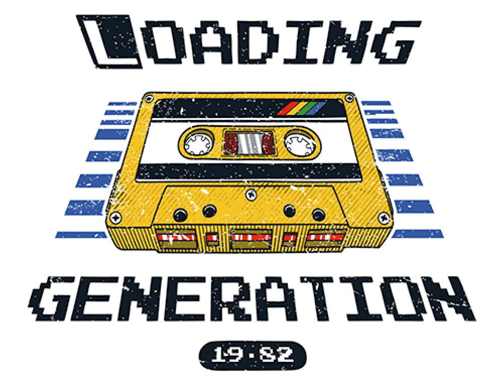 """""""GENERATION"""" Изображение для нанесения на одежду № 0942"""