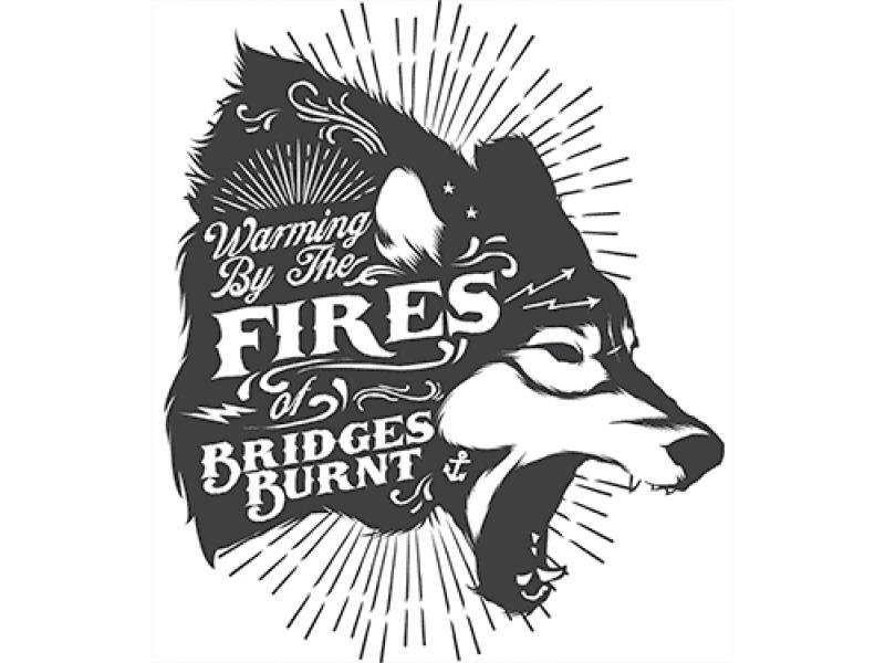 """""""FIRES"""" Изображение для нанесения на одежду № 0997"""