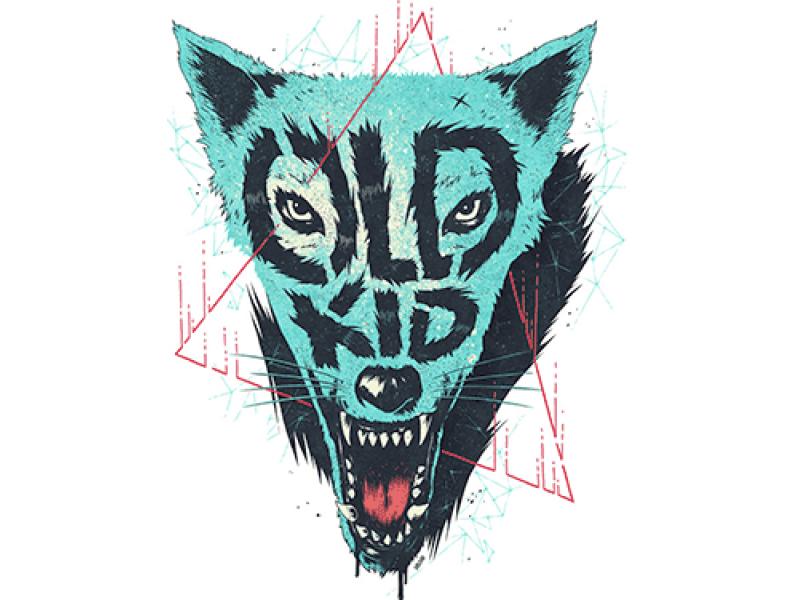 """""""OLD KID"""" Изображение для нанесения на одежду № 1001"""