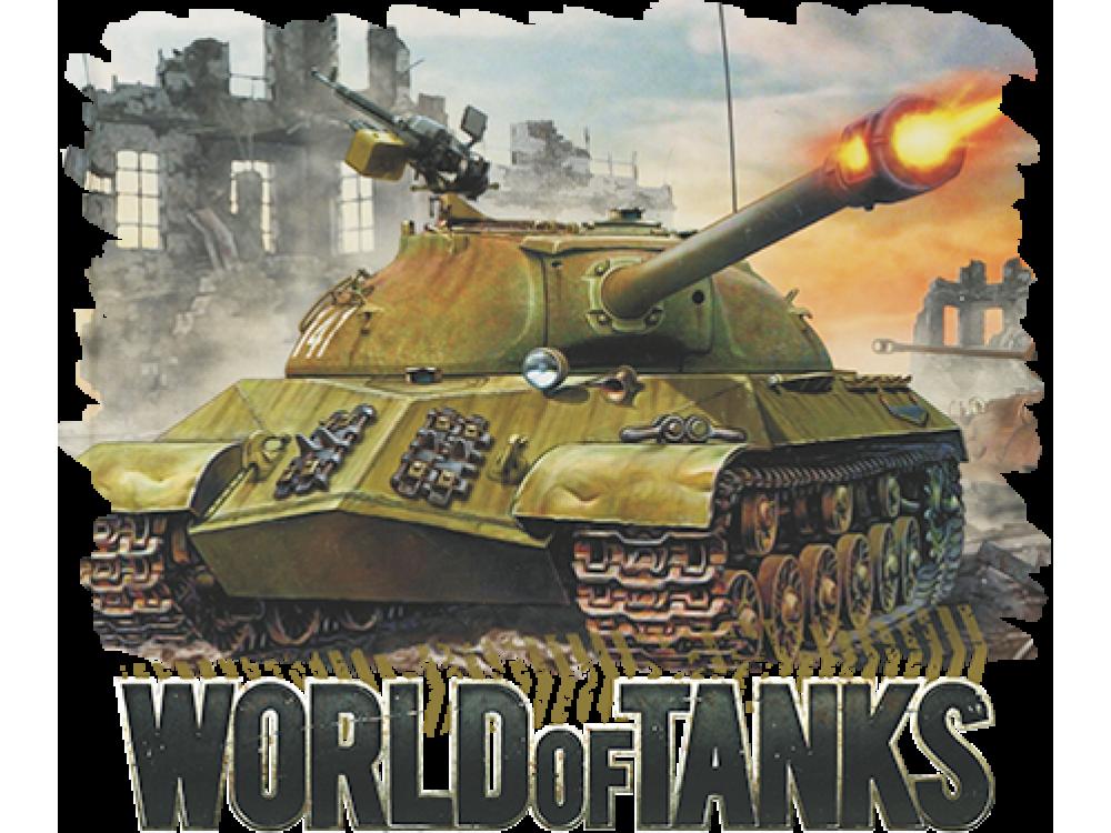 """""""World of Tanks"""" Изображение для нанесения на одежду № 1443"""