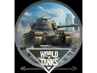 """""""World of Tanks город"""" Изображение для нанесения на одежду № 1445"""