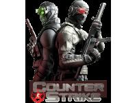 """""""Counter Strike"""" Изображение для нанесения на одежду № 1448"""