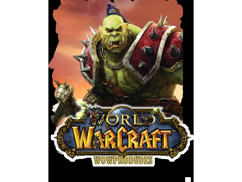 """""""Warcraft"""" Изображение для нанесения на одежду № 1453"""