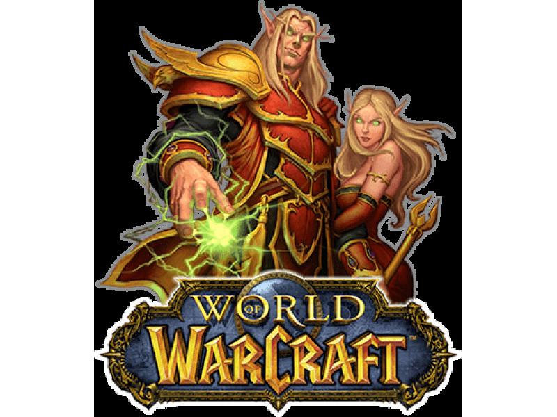 """""""Warcraft para"""" Изображение для нанесения на одежду № 1454"""