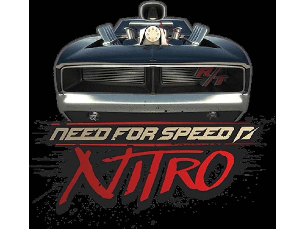 """""""NFS Nitro"""" Изображение для нанесения на одежду № 1458"""