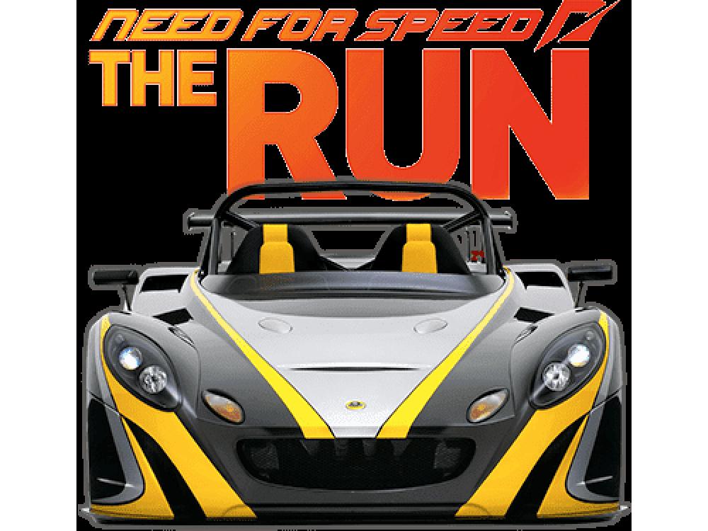 """""""NFS The Run"""" Изображение для нанесения на одежду № 1459"""